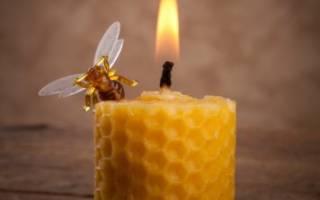 Свечи из пчелиного воска для чего применяют как сделать своими руками