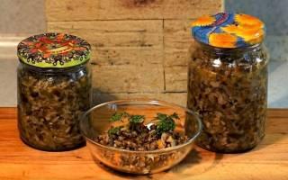 Грибная икра на зиму рецепты через мясорубку без стерилизации с овощами