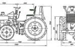 Минитрактор своими руками с двигателем от мотоблока