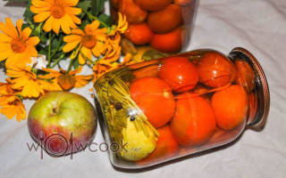 Помидоры маринованные с яблоками на зиму 13 рецептов