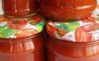 Томатный соус в домашних условиях на зиму рецепты с чесноком без варки острый без стерилизации с базиликом без уксуса