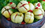 Армянчики из зеленых помидор рецепт