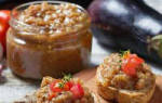 Икра из кабачков и баклажанов рецепты на зиму