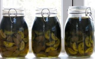 Зеленые грецкие орехи рецепты способы настойки лечение отзывы