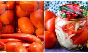 Консервирование помидоров на зиму очень вкусные рецепты в 2 и 3 литровых банках