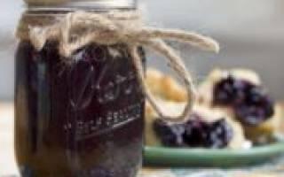Варенье из голубики 14 рецептов на зиму
