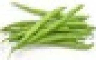 Фасоль карамель спаржевая описание фото отзывы
