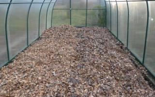 Обработка почвы в теплице осенью