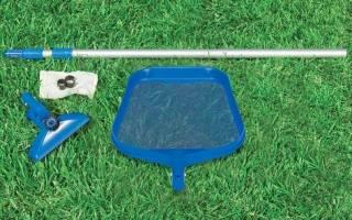 Очистка бассейна основные способы наборы