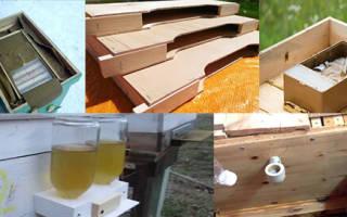 Кормушки для пчел разновидности внутриульевая из пластиковой бутылки потолочная какая лучше