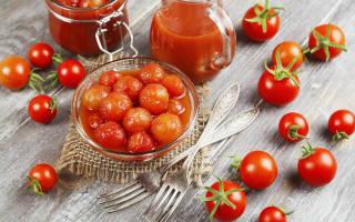 Как посолить помидоры черри на зиму вкусные и простые рецепты