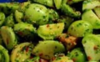 Помидоры погрузински рецепты быстрого приготовления